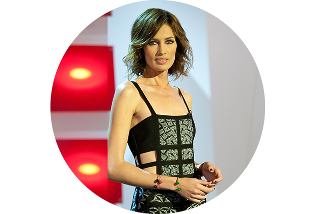 Nieves Alvarez en Flash Moda